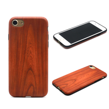 Hot Retro Fashion IMD Wood Patten TPU Protective Cover Case For Apple iPhone 7