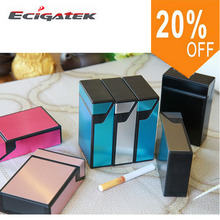 China Supplier Aluminium Alloy cigarette case Metal Tobacco Box