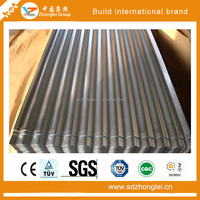 Precoating roofing steel, corrugated steel sheet roof