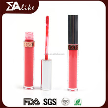 Permanent makeup high quality plump longlasting shinning lip gloss with mirror