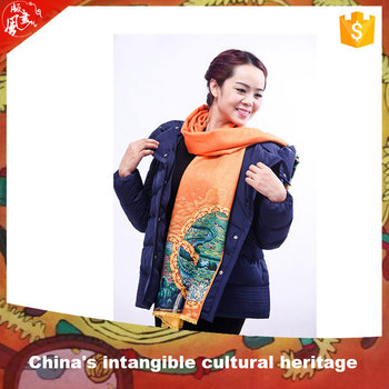 factory price tie dyeing winter scarf