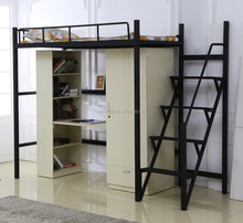 Exquisite Cheap loft bed with desk in bedroom furniture for kids