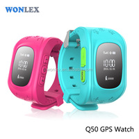 Wonlex Smart Kid Safe GPS Watch Wristwatch SOS Call Location Anti Lost Monitor Baby
