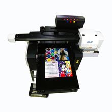 double heads tabletop uv led flatbed printer