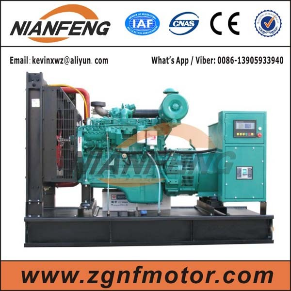 Nianfeng 50kva diesel generator price powered by 4bta3.9-g2 diesel engine and stamford alternator with ATS