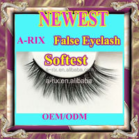 High quality lashes 3d handmade mink lashes natura more softer eyelashes 0528