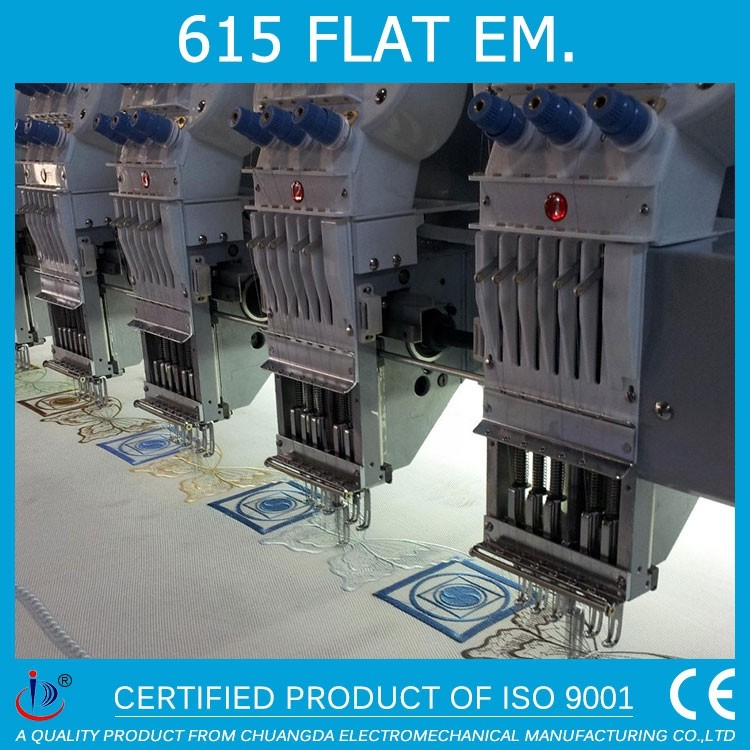 15 HEADS FLAT COMPUTERIED EMBROIDERY MACHINE IN INDIA