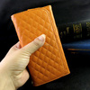 High Quality Sheep Grip Flip PU leather Case With Chain Wallet Credit Card Universal Smartphone Case For Phone 3.5-5.5 inch