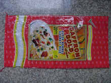 pp transparent woven bag for rice and sugar