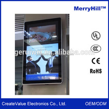 Elevator Advertising LCD Touch Monitor 42 inch Wall Mount Touch Screen Monitor