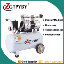 cheap oil free silent dental air compressor oilless quiet air compressor for sale