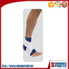 Double Layer Ankle Support With Strap /Open Patella Pad/Nylon Elastic Band