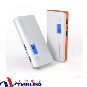 mobile power supply mobile lcd power bank cell phone battery ,wholesale power bank15000-20000mah