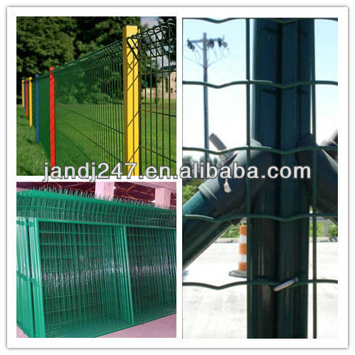 PVC coated welded wire mesh fence from factory