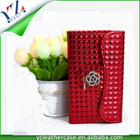 Promotional fancy cheap price fashion design diamond bling case for samsung c3