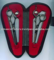 Hair Cutting & Thinning Scissors Shears Hairdressing Set Case