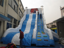 Playground Giant Inflatable Thrilling Spiderman Slide for Sale