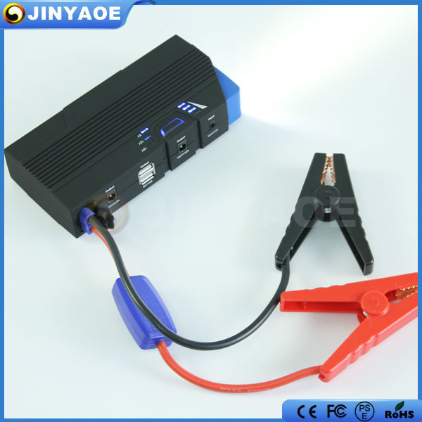 car accessories gasoline and diesel Dual USB 15000mah rechargeable jump start