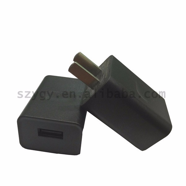 color usb charger efficiency level 6 12v1a for iphone 3g/3gs/4g wall mount adapter with CE CCC UL