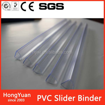Hot sale A4 arch back PVC slider binder