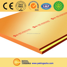 "SUPERHOT 2"" thick polystyrene insulation board"