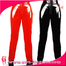 high waist faux leather legging sexy pvc legging leather legging