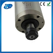 Water Cooled CNC Milling Spindle 220v 1.5kw ac motor