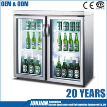 Welbas Hotel and restaurant beverage industry special beer cooler for sale mini bar fridge beer refrigerator display for sale