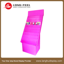 retail store hot sale counter top display stand/table top cardboard display/cardboard condom