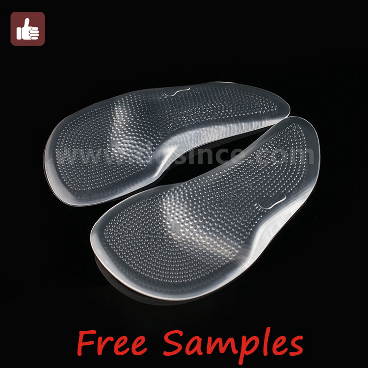 alibaba china magnetic silicone gel arch support shoe insert foot insole wedge cushion pad pain insoles