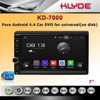 New design 7 inch Quad Core Android 2 din car DVD player for universal without disk