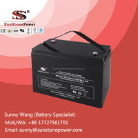 6V 180AH/AMPS Dry Cell Rechargeable AGM UPS Battery Standby Power Storage Batteries