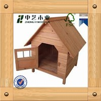 outdoor decoration wooden dog house /dog cage