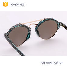 Promotional cheap running metal decoration sunglasses