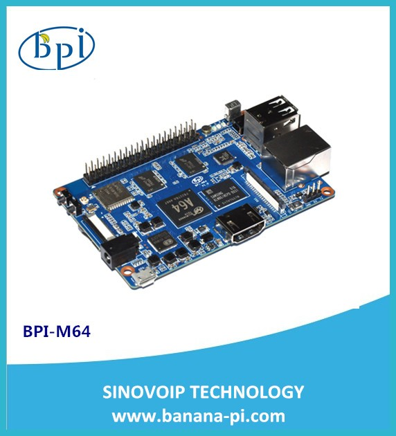 Banana PI BPI-M64 Quad-core 64 Bit SBC with Allwinner A64