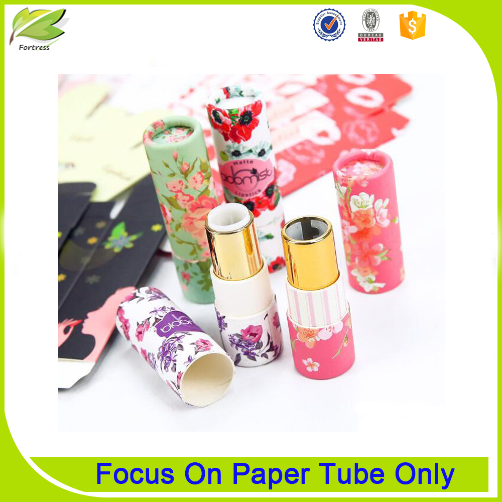 Wholesale Customized Round Tube Empty Lipstick Case