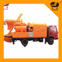 JBC40 concrete mixer pump concrete pump with twin shaft and electric motor