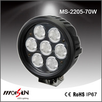 New product Auto 5.9 inch 70w Led work Light for Truck,SUV, TUV