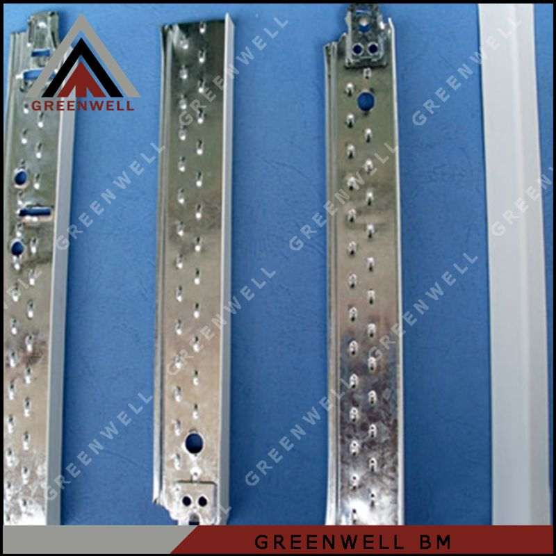False groove t bar suspended ceiling grid