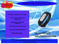 16GB 280 hours Wrist band voice recorder,outdoor voice recorder,bracciale registratore vocale Hnsat WR-06