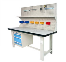 Heavy Duty Metal Steel Work Bench with Metal Cabinet and lockers for Warehous Factory and Industrial