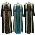 Shining Frock Design Dubai Abaya Evening Dresses from Dubai Manxun Abaya Women