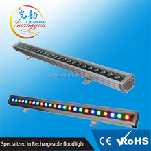 Waterproof led exterior building lights dmx rgb led wall washer light