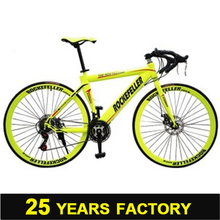 4 700C steel road bike 21 speed 700c bicycle wholesale