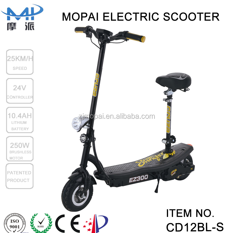 Hub motor folding electric scooter manual