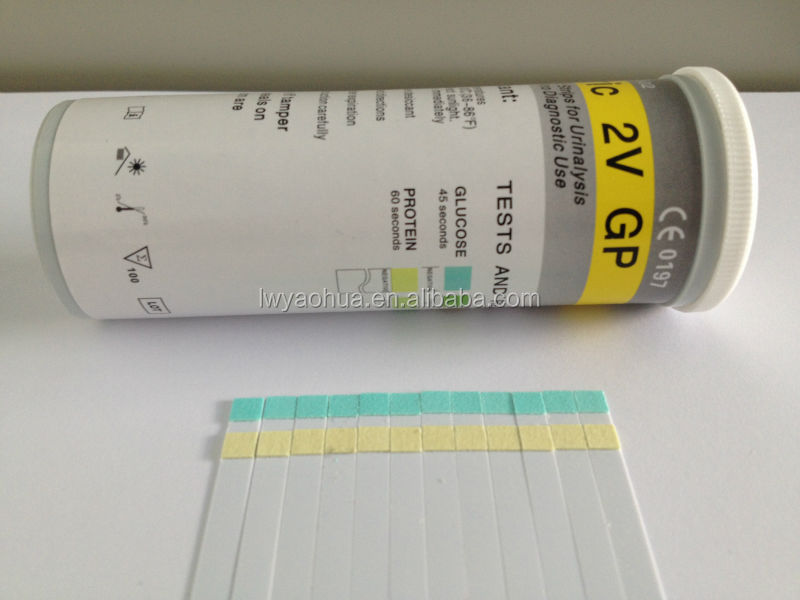 Uric 3V Urine Test Strips for glucose,protein,pH