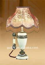 Dragon decoration antique telephone table lamp home appliance