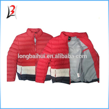 wholesale export surplus branded garment man jacket second hand clothing stock