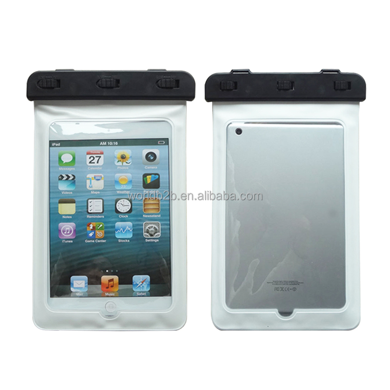 3 Meters Swimming PVC Waterproof Pouch Case Bag For iPad Mini 4