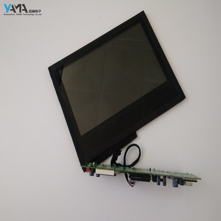 Modern high definition transparent lcd screen with CE, RoHS standard, 32inch LCD for advertising